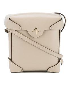 Manu Atelier | Mini Pristine Shoulder Bag Womens Leather/Cotton