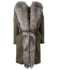 Ava Adore | Mimosa Coat Womens Size 46 Cotton/Polyester/Raccoon Dog/Acrylic