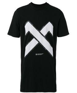 11 By Boris Bidjan Saberi | Cross Print T-Shirt Mens Size Small