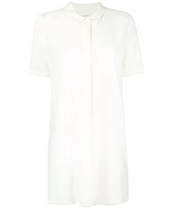 Equipment | Elongated Shortsleeved Shirt Womens Size Medium Silk