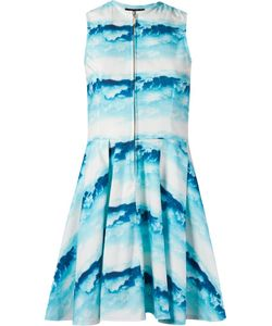 Skinbiquini | Céu Print Sleeveless Skater Dress