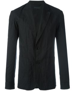 Ann Demeulemeester Grise | Summer Blazer Mens Size Small Cotton/Metallic Fibre