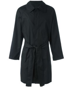Ann Demeulemeester Grise | Belted Raincoat Mens Size Large Cotton