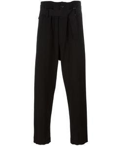 Ann Demeulemeester Blanche   Drawstring Trousers Mens Size Large Spandex/Elastane/Virgin Wool/Cotton