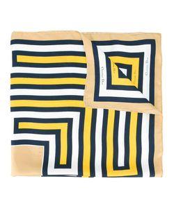 Christian Dior Vintage | Geometric Print Scarf Adult Unisex