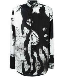 Ann Demeulemeester Blanche   Printed Shirt Mens Size Medium Cotton