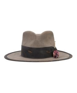 Nick Fouquet | Fedora Hat Mens Size 57 Leather