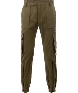 Juun.J | Multiple Pockets Tape Trousers Mens Size 46 Cotton/Polyurethane