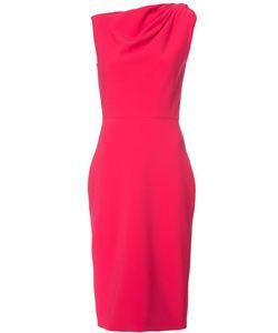 Christian Siriano | Asymmetric Sleeves Dress Womens Size 4 Silk/Polyester/Polyurethane