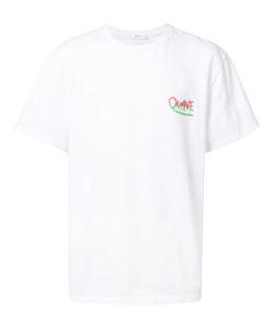 Julien David | Round Neck T-Shirt Mens Size Medium Cotton