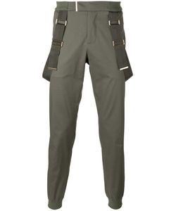 Les Hommes | Strap Detail Trousers Mens Size 48 Cotton/Spandex/Elastane/Nylon
