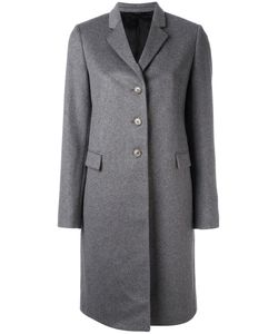 Paul Smith | Classic Single-Breasted Coat Womens Size 46 Cashmere/Wool/Cupro
