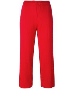 Issey Miyake Cauliflower | Cropped Pants Womens Polyester