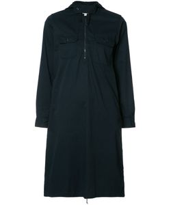 Engineered Garments | Zipped Neck Shirt Dress Womens Size 3 Cotton