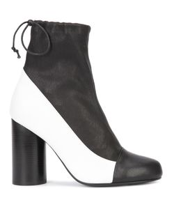 Valas | Cylinder-Heel Boots Womens Size 7 Leather