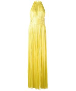 Maria Lucia Hohan | Sleeveless Belted Gown Womens Size 38 Silk