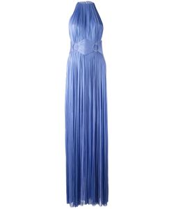 Maria Lucia Hohan | Side Slit Gown Womens Size 34 Silk