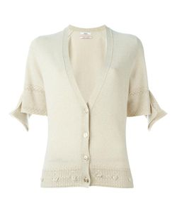Barrie | First Alchemy Short Sleeve Detail Cardigan Womens Size Small