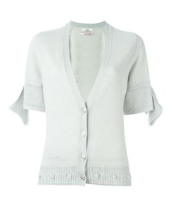 Barrie | First Alchemy Short Sleeve Detail Cardigan Womens Size Medium