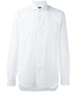 Barba | Jacquard Effect Shirt Mens Size 42 Cotton