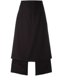 Aalto | Central Slit Skirt Womens Size 42 Virgin Wool/Polyamide/Viscose