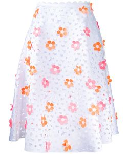 Paskal | Flowers Detail Skirt Womens Size Medium Polyester
