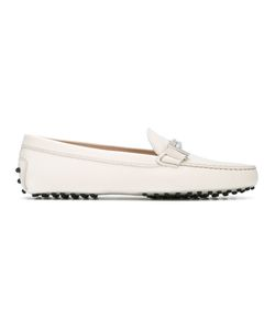 Tod's | Buckle Loafers Womens Size 38 Leather/Rubber