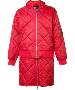 Hood By Air | Against Quilted Bomber Jacket Mens Size Large
