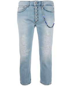 Dondup | Cropped Jeans Womens Size 25 Cotton