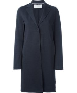 Harris Wharf London | Single Breasted Coat Womens Size 48 Cotton