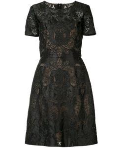 Marchesa Notte | Embroide Dress Womens Size 12 Polyamide