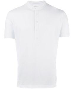 Paolo Pecora | Henley T-Shirt Mens Size Xl Cotton