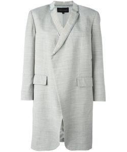 Comme Des Garçons | Vintage Pvc Trim Lightweight Coat Womens Size Medium