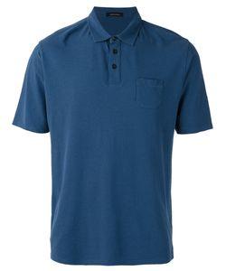 Roberto Collina | Chest Pocket Polo Shirt Mens Size 48 Cotton