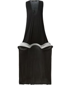 Musée | Structured A-Line Sheer Panel Dress