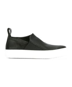The Last Conspiracy | Slip-On Sneakers Womens Size 39 Horse Leather/Leather/Rubber