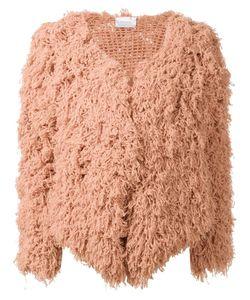 Ryan Roche | Open Front Cardigan Womens Size Medium Cashmere
