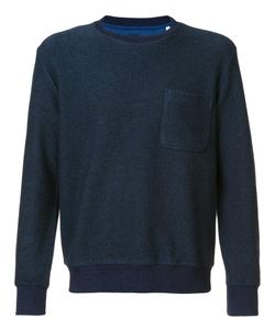 Blue Blue Japan | Chest Pocket Sweatshirt Mens Size Small Cotton