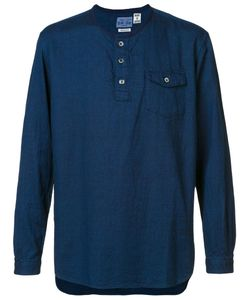 Blue Blue Japan | Henley T-Shirt Mens Size Large Cotton