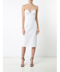 Christian Siriano | Strapless Fitted Dress Womens Size 2 Silk/Cotton