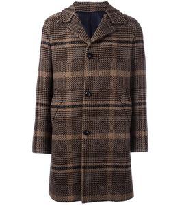 Mp Massimo Piombo | Textured Checked Coat Mens Size 48 Other
