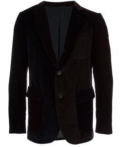 Wooster + Lardini | Velvet Colour Block Blazer Mens Size 52