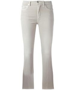 +People | Cropped Flared Trousers Womens Size 26 Cotton/Spandex/Elastane