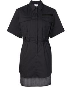 Koonhor | Mesh Hem Shirt Dress