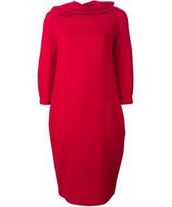 Sybilla | Draped Neck Dress