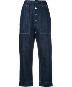 Sofie D'hoore | Cropped Jeans Womens Size 40 Cotton/Linen/Flax