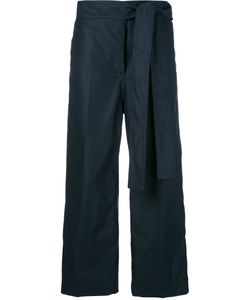 Sofie D'hoore | Drawstring Cropped Pants Womens Size 38 Cotton