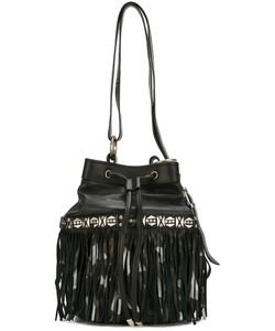 Htc Hollywood Trading Company | Fringed Bucket Shoulder Bag Womens Leather