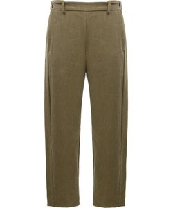 Ilaria Nistri | Slim-Fit Trousers Womens Size 42 Linen/Flax/Viscose