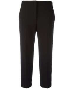 Theory | Cropped Cigarette Trousers Womens Size 8 Polyester/Viscose/Spandex/Elastane/Polyurethane